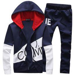 Pu-sweatshirts online-Männer Trainingsanzug Frauen Casual Tom Sport Anzug Jacke PU Hoodie Hosen Sweatshirt und Hosenanzug Hoodie und Hose Set Sweatsuit Hose