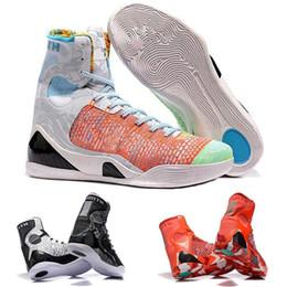 Venta barata kobe 9 High Weaving BHM / Easter / Christmas Kids Zapatillas de baloncesto para hombres de calidad superior KB 9s Zapatillas deportivas desde fabricantes