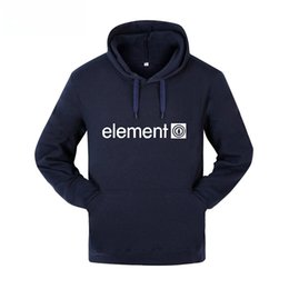 element hoodies Rabatt ELEMENT Letters Printed Hoodies Herrenbekleidung Herbst Frühlingsmode Fleece Sweatshirts Hommes Hoodie