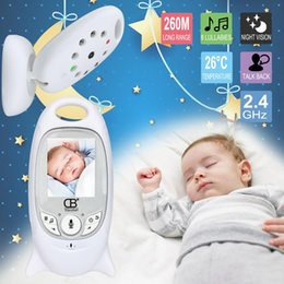 babyfoon Baby sleep Monitor Color Video Wireless Baba электронная система безопасности Nigh Vision LED мониторинг температуры Bebek Telsizi от
