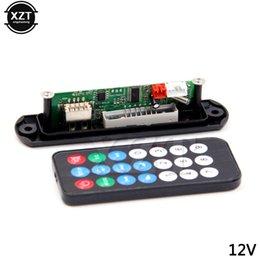 canción mp3 Rebajas 3 Jugadores 5V 12V del decodificador MP3 WMA TF FM Módulo USB Junta jugador MP3 Car Audio Control Remoto de accesorios de coches