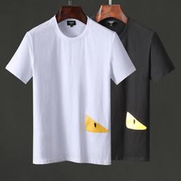 La camiseta de manga corta de Europa y la impresión de alta calidad de la industria de ropa estadounidense es perfecta, la camiseta de los hombres de la marca Medusa, la perfección de Asia .7R desde fabricantes