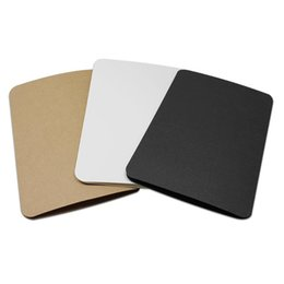 10pcs Grußkarte Grußkarten Set Blanko Handgemachtes Retro Kraftpapier