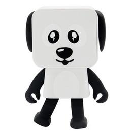 alto-falantes Desconto DHL 2018 Mini Bluetooth Speaker inteligentes oradores Dança brinquedo do cão novo multi Altifalantes portáteis de Bluetooth brinquedos Altifalante presente criativo