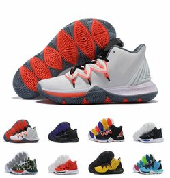 factory authentic 07637 79c8f With Box Men Limited 5 Little Mountain Concepts 5s CNY Ikhet Neon PE Taco  Kyrie Chaussures de basket ball Mens Trainers Size US7-12