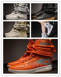 d54703fbe3 Diseñador de Hip Hop Zapatos para hombre Zapatos casuales Hombres Tenis  Sapato masculino Heren Schoenen Zapatillas altas Zapatillas de baloncesto  para ...