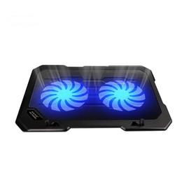 2019 coole spiele für pc Seenda Laptop Kühler USB-Ports 2 Silent-Fans unter 15,6 Zoll für Laptop PC Computer-Spiel-Cooling Pad rabatt coole spiele für pc