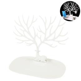 Дизайн древостоя онлайн-Декоративные олень Рога дерево дизайн браслет ожерелье держатель / черный организатор ювелирных изделий стенд ж / кольцо лоток