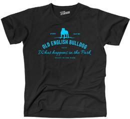 Canada T-Shirt VIEUX BULLDOG ANGLAIS Vintage Logo Park Hund Hunde OEB Siviwonder bis 4XLFunny livraison gratuite Unisexe Casual Tshirt cheap english parks Offre