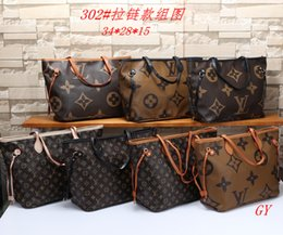 saco de vagão caqui Desconto Famosos designers de couro de qualidade orange venda quente nunca cheiram mulheres bolsa bolsa de ombro sacos senhora bolsas bolsas # 40156 # 40157 M40995