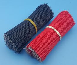 10000pcs fils de câble de cavalier de carte mère étamés 10cm 26awg noir rouge chaque 500 ? partir de fabricateur