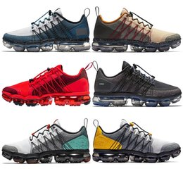 super popular bbe08 8f453 NIKE 2019 Run UTILITY Vapormax VM OFF WHITE Run UTILITY Hommes Chaussures  De Course NOIR RÉFLÉCHISSANT Desert one Medium Olive Bordeaux Crush  formateurs ...