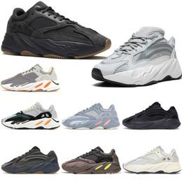 2019 scarpe kevin durant scarpe basse 700 V2 inerzia corridore dell'onda utilità nero Magnete donne degli uomini delle scarpe da tennis di Kanye West New Tephra Static Mauve 5-11