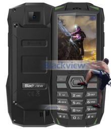 2019 teléfonos móviles a prueba de agua dual sim Blackview BV1000 IP68 Teléfono móvil impermeable al aire libre 2.4