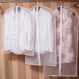 Сумка на молнии xl онлайн-Новая ткань пылезащитный чехол одежды Организатор костюм платье куртки Одежда Protector Чехол для путешествий сумка для хранения с застежкой-молнией wn255