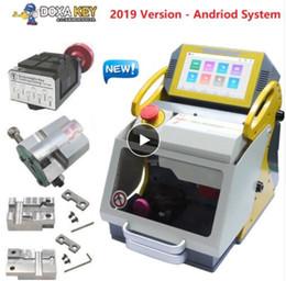 Bmw clave de corte online-DHL Envío Gratis SEC-E9 Máquina Automática de Hacer Llave del Coche Máquina de Corte de Llave Láser En Venta 2019 Duplicadora de Llaves