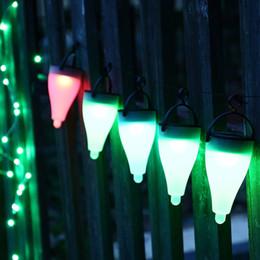 weihnachten hausgarten festival licht Rabatt 2 teile / los Hausgarten Rasen Solar Lampe Im Freien Wasserdichte Solar Licht Solar LED Landschaft Licht Weihnachtsfeier Festival Decor 24 Lose DHL