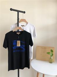 Canada 2019 Nouvelle Arrivée Royaume-Uni luxurio Marque BBR Bleu cheval de guerre Tee shirts Hommes Femmes Respirable tendance Mode Streetwear En Plein Air T-shirts cheap trend t shirts for men Offre