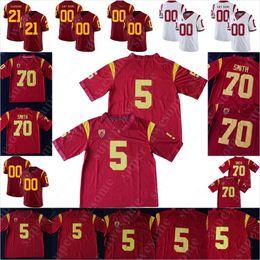 Camisetas de troy polamalu online-USC Trojans fútbol Jersey Troy Polamalu OJ Simpson 42 Ronnie Lott 5 Reggie Bush 33 Marco Allen 55 Seau Anthony Muñoz Carson Palmer