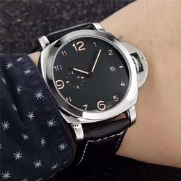 222616ccab9 2019 dom masculino Alta qualidade mens esporte relógios marca de luxo  pulseira de couro à prova