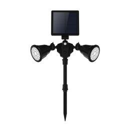 Étanche IP65 Sans Fil Led Capteur Solaire Énergie D'énergie Jardin Spot Projecteur Voie Lumière Lampe De Pelouse Pour Extérieur Extérieur ? partir de fabricateur