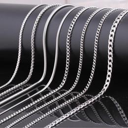 occhio incrociato Sconti Catene Jewelry Findings Componenti New Fashion Breve alta qualità 60 centimetri Catene in acciaio inox Accessori gioielli all'ingrosso LP017