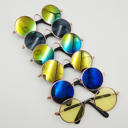 """Doll Accessories Round Colorful Glasses Sunglasses For  18/""""  DollB TS"""