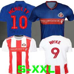 Uniforme c online-19 20 Camiseta de fútbol Sunderland A F C 2019 2020 BORINI GRABBAN MIKA DEFOE camisetas de fútbol Sunderland azul kits camisetas de fútbol Uniformes