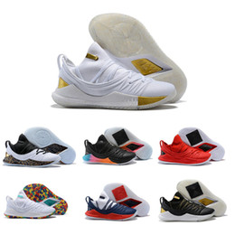 2019 zapatillas de baloncesto bajas de oro 2019 New Top 5 Low Mens 5 Gold Championship basketball Chaussures de basket-ball Steph zapatos rebajas zapatillas de baloncesto bajas de oro