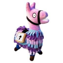 25 cm Jogo Alpaca Boneca Macia Bonito Dos Desenhos Animados Brinquedos Rainbow Horse Stash Lhama Recheado Crianças Coleção presente mascote de Fornecedores de traje tigger