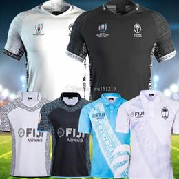 rugby de auckland Rebajas Camiseta de la Copa Mundial de Rugby de Fiji 2020 2019 Nueva Zelanda Camiseta negra de local de Super Rugby de local para hombre