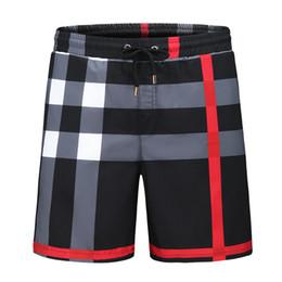 2019 cravate étiquettes en gros Shorts de mode d'été en gros nouveau designer conseil court séchage rapide SwimWear impression conseil plage pantalons de plage hommes mens maillot de bain - # 108