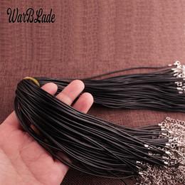 1 5 o 10 Ajustable De Cuero Collar Redondo Tanga cables 2mm//16 Langosta Broche