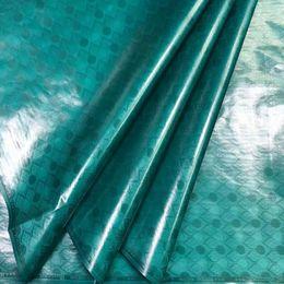 2019 multicolore tessuto di sequin Bazin Getzner riche 2019 ultima 100% cotone Nigeria Atiku di alta qualità del tessuto bazin riche Guinea 5yards tessuto broccato / lot