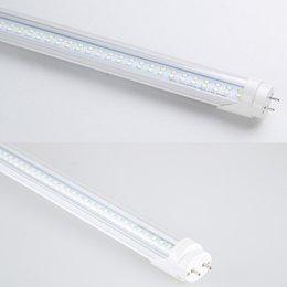 tubos de plástico leve Desconto T8 tubos de LED Luzes 8 pés de 8 pés G13 56W 6000LM AC85-265V 110V 384LEDs 5000K 5500K 2835SMD Lâmpadas direto de Shenzhen grosso fábrica China