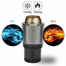 Copo do carro Mais Quente 2 In1 Aquecimento Inteligente Controle de Temperatura Titular Caneca Elétrica de