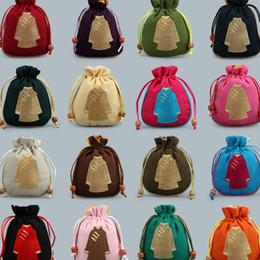 2019 hermosos paquetes Novela china 11 * 13 moda de regalo de boda bolsas de aromaterapia bolsas de colección de joyas hermosas bolsas de joyería T2C5017 rebajas hermosos paquetes