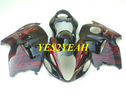 99 hayabusa injection mold Promo Codes - Injection Fairing kit for SUZUKI Hayabusa GSXR1300 96 99 00 07 GSXR 1300 1996 2000 2007 Full tank cover Fairings bodywork SG53