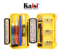 iphone 24 Promo Codes - Kaisi 24 in 1 Screwdriver Sets Tools Multi-function Precision Screwdriver Computer Repair Tools Mobile Phone Repair for iPhone