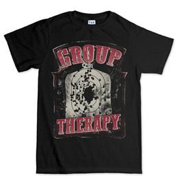 d0fbc6f27c Group Therapy Guns Shooting Target AR-15 Rifle T shirt Tee Top T-shirt Cool  Casual pride t shirt men Unisex New Fashion