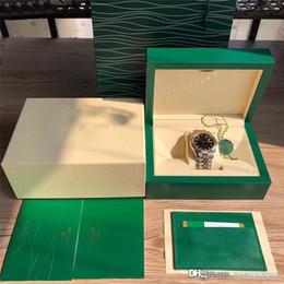 Мужской бриллиант онлайн-2019 Мужские наручные часы Модные мужские часы Log type черные бриллиантовые шкалы автоматические механические часы 18k 126333