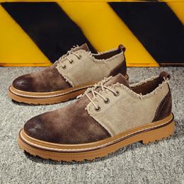 Nouvelle chaussure de marche cool pour hommes chaussures de travail vintage pour hommes bas top formation tactique hommes brun noir automne chaussures ? partir de fabricateur