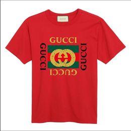 2019 puro camicia da stampa floreale T-shirt da uomo s-6xl di t-shirt in cotone di alta qualità a manica corta da uomo