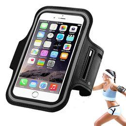 2019 borsa del cellulare di neoprene Sport variopinti del neoprene che eseguono la borsa del sacchetto del polso della banda del braccio per il telefono cellulare borsa del cellulare di neoprene economici
