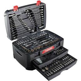 Reparacion de destornilladores online-Juego de herramientas mecánicas Husky de 268 piezas con estuche SAE con llaves métricas Juego de reparación de llaves