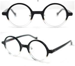 Марка Япония desgin маленький круглый ретро винтаж мужчины ацетат оправы для очков близорукость дизайнер очки по рецепту прозрачные линзы очки 2171109 supplier eyeglasses prescription lenses от Поставщики линзы для очков
