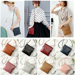 Маленькие сумочки для сотовых телефонов онлайн-Womens Handbags Small Leather Crossbody Bag Purse Vintage Cell Phone Travel Bag