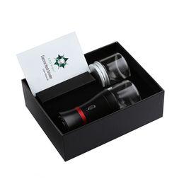 Vapore accessori online-Tubo di fumo Dry Herb Refiner Ecig vaping LTQ Vapor Electric Herb Grinder Kit tabacco Crusher Sigaretta Rolling accessori