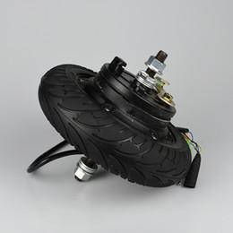 """2019 caricabatterie hoverboard Motore elettrico del mozzo della ruota di skateboard 24V 36V 48V CC motore senza spazzola senza spazzola 8 """"del motorino della ruota della E-Motorino"""