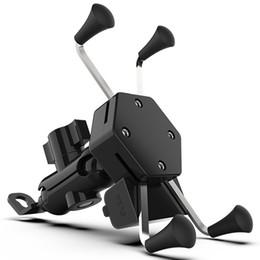 specchio porta cellulare Sconti Supporto universale regolabile a 360 gradi per telefono cellulare Motocicletta Specchio per bicicletta Staffa di ricarica USB Bicicletta Moto Impugnatura Grip car